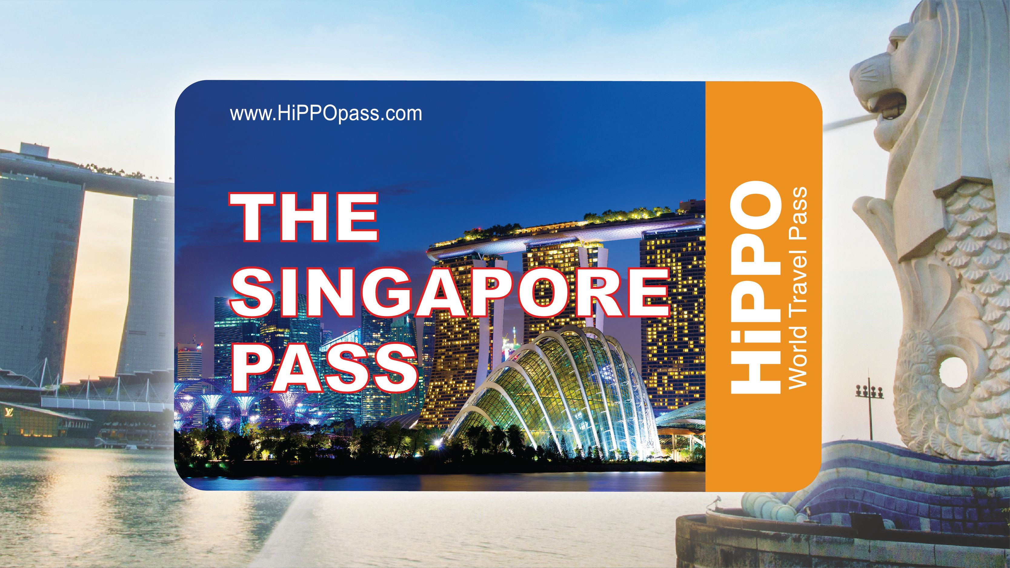 The Singapore Pass 3 or 5 Attractions with Universal Studios Option